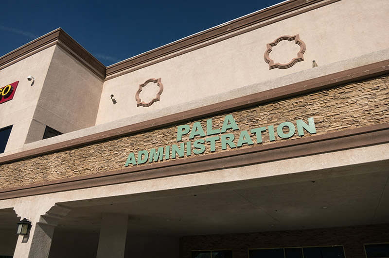 Pala Band Administration Building California