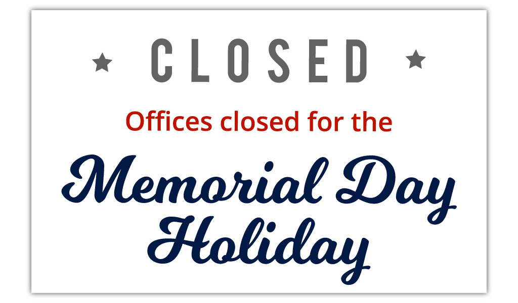 Pala Environmental Department PED Office Closed Holiday