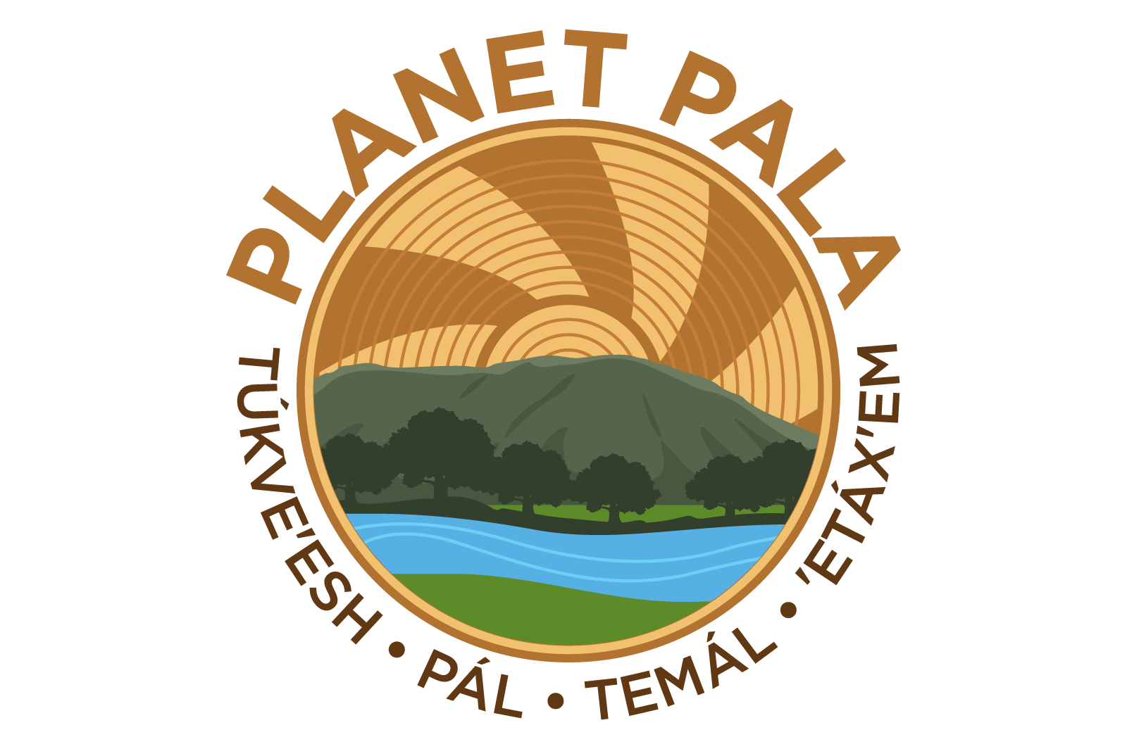 Pala Band California Environmental Department PED Planet Pala Logo