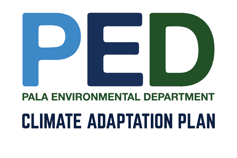 Pala Environmental Department Climate Change Climate Adaptation Plan PED