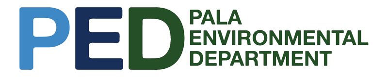 Pala Environmental Department PED Pala Band of Mission Indians Logo
