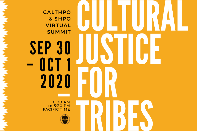 Pala Band California PED Environment CalTHPO Virtual Summit Cultural Justice for Tribes